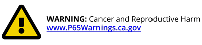 WARNING: Cancer and Reproductive Harm - www.p65warnings.ca.gov