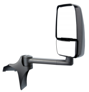 ss shuttle bus mirror offers improved visibility velvac