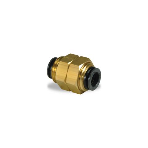 "2PC VelVac Push-Lock Air Brake Fitting DOT Approved 3//8/"" Tube 1//4/""NPT Connector"
