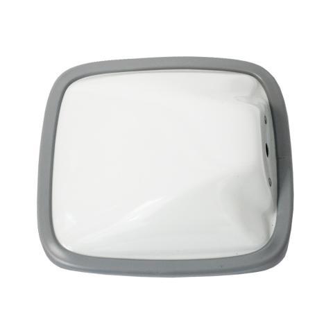 VELVAC WIDE ANGLE FLAT 6.5 X 6 WHITE 704078