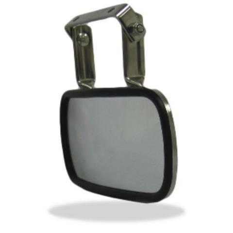 Over Door Convex Mirror, Long Arm Look Down Mirror | Velvac